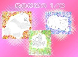 Ranma.Collage. by SaliroO