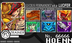 IPL Trainer Card 2 - LUCIFER by Pokemon-FR