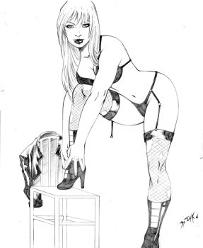 Black Canary Comission by DyegoJack