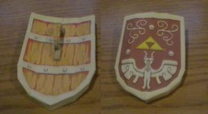 LoZ WW Shield papercraft by NinjaKirby144