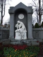 cemetary - statue 2 by sacral-stock