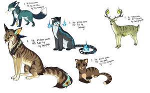 Livestream Adoptables- CLOSED by Capukat