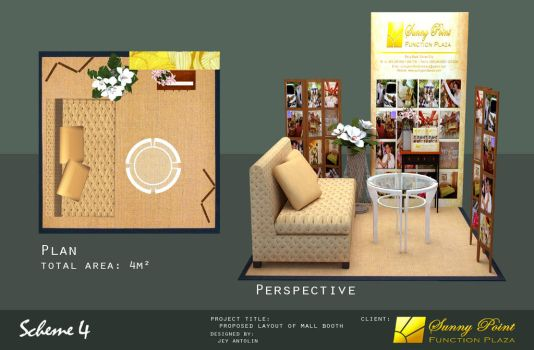 SUNNY POINT FUNCTION PLAZA MALL BOOTH - SCHEME 4 by rj-king