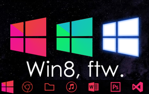 Zune-Themed [Win8] Start Button, ftw. by jdm187