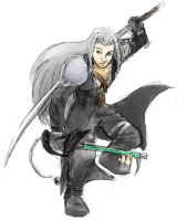 Heartblade Sephiroth by jameson9101322