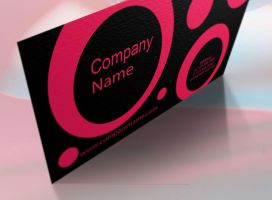 Painting Business Cards by BorceMarkoski