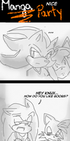 MANGA-nice party .:Sonic team:. by Klaudy-na