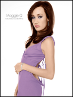 Colorize Maggie Q by Giraffina