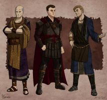 Character Designs - Aenesians by EtyrnalOne