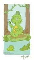 creature from the black lagoon by katiecandraw