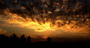 burning sky of afghanistan 1 by remousse