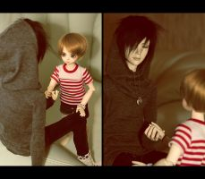 bjd: hand in hand by Chu-Momo