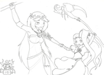 Goddesses love showdown by 13TheDeath