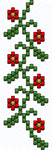 floral I peyote beading pattern by bcre80v