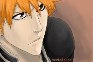 Ichigo, Bleach by VertaMoltke