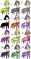 Canine Tar 11 CHEAP Adopts by AdoptableSoulxHeart
