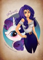 Lady Rarity by li-jean