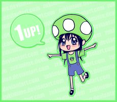 1 Up! by Zukimime