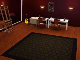 Office (Sims3) by TheLazyRulee