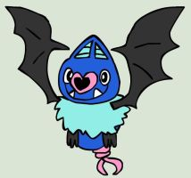 5th Flying - Swoobat by PlushBuddies