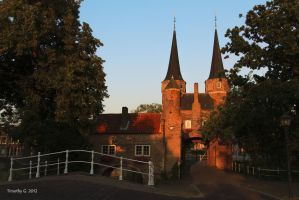 The East Gate of Delft by TimothyG81