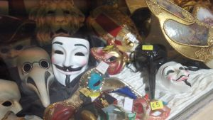 Venetian Guy Fawkes by Phant0mQueen