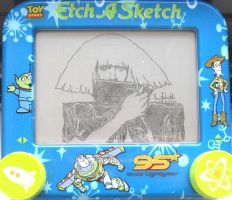 Lady Gaga etchasketch 2 by pikajane