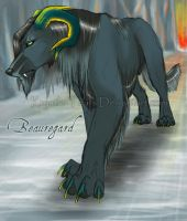 Beauregard the Hellhound by krystle-tears