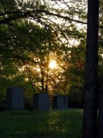 Graveyard Sunset by Dair-to-be-me