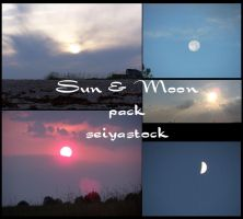 Sun and Moon pack by seiyastock
