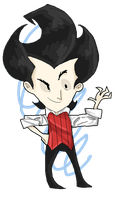 Don't Starve: Wilson by Artizluv