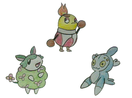 New Starters Evo by Claudiamore