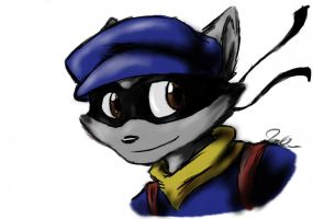 Sly Cooper by Typiitti