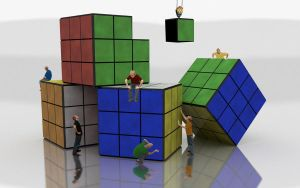 Rubix Construction by Grimful