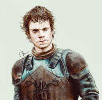 Theon Greyjoy by Yellowtwist