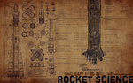Rocket Science Wallpaper by dark-passion-play