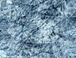 Frozen Blue Abstract Texture by FantasyStock