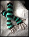 Rains Embrace Long Arm Warmers by ZenAndCoffee