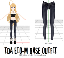 Bottom 2 - MMD DOWNLOAD by ela-stellar