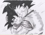 Goku and goten - Father and son by FJL22 by fjl22
