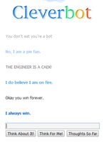 Cleverbot is Win by SuperTomNook