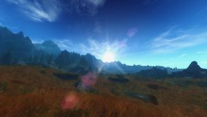 Plains of Whiterun by Ezekielepharcelis