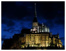 Mont_Saint_Michel_2 by Skys0