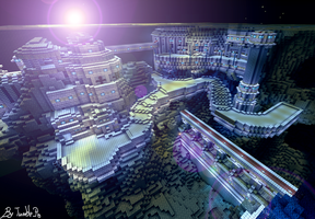 Cavern city 4 by Oeasis