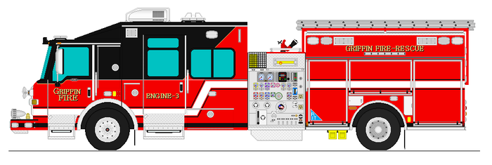 Griffin Fire Rescue Paramedic Engine 3 by firefighter171981