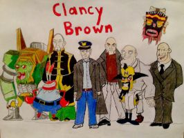 Clancy Brown by BravoKrofski