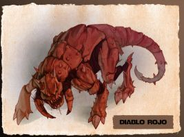 Concept monster- Diablo by Dr-Salvador