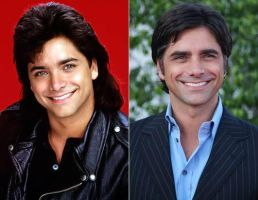John Stamos Then and Now by ChowFanGirl12