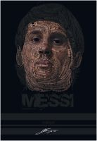 messi typography by Tolio-Design