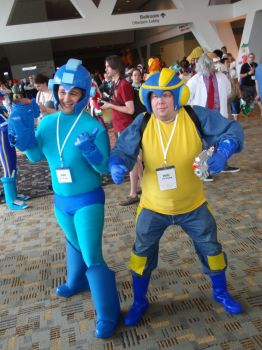 25 Years of Mega Man - Otakon 2012 by LBDNytetrayn